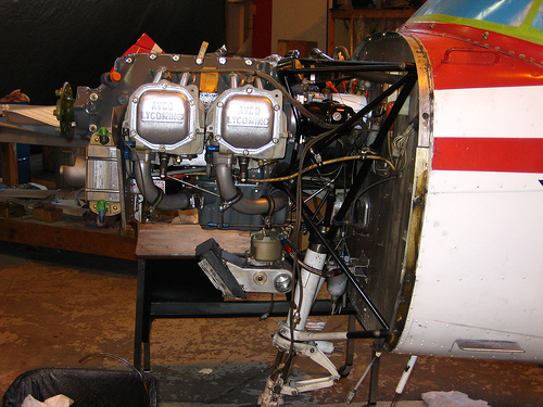 Lycoming Engine - photo by wirelizard